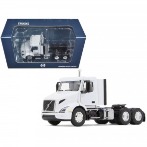 Volvo VNR 300 Day Cab White 1/50 Diecast Model Car by First Gear 50-3366