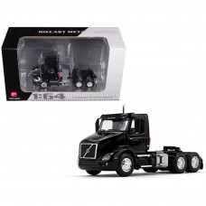 Volvo VNR 300 Day Cab Black 1/64 Diecast Model by First Gear 60-0369