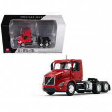 Volvo VNR 300 Day Cab Sun Red 1/64 Diecast Model by First Gear 60-0371