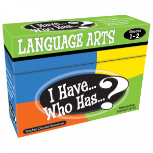 I Have... Who Has...? Language Arts Game (Gr. 1–2)