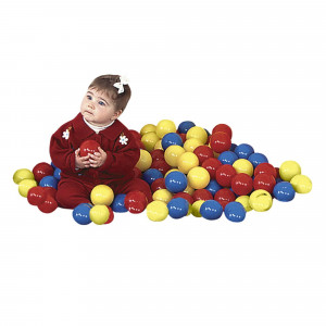 Children's Factory Ball Pit Balls, 2-3/4 Inches, Assorted Colors, Set of 175