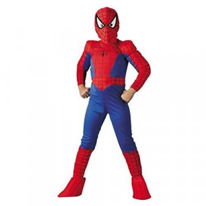 Ultimate Spiderman Boys Large Deluxe costume