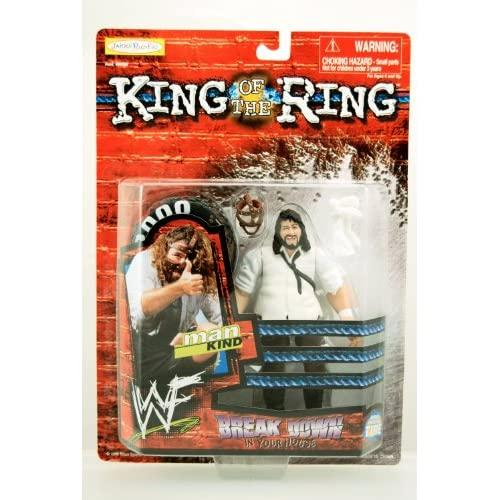 Wwf / Wwe King Of The Ring Series 1999 Mankind Action Figure Rare Break Down In Your House Body Twistin Tire Jakks Limited Edition Mint Collectible