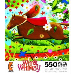 Wit Whimsy 550-Piece Puzzle - Knightingale