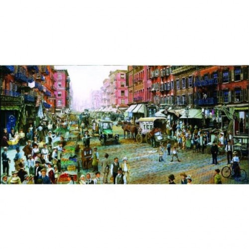 SUNSOUT INC The Street Merchants 1000pc Jigsaw Puzzle by Les Ray