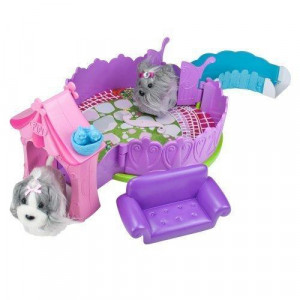 Zhu Zhu Puppies The Posh Puppy Playhouse Puppies Not Included!