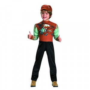 Tow Mater classic Muscle costume - Small (4-6)