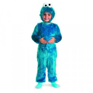 Sesame Street Cookie Monster Comfy Fur Costume - Small (2T)
