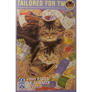 Tailored for Two a 1000 Piece Puzzle By Fx Schmidt