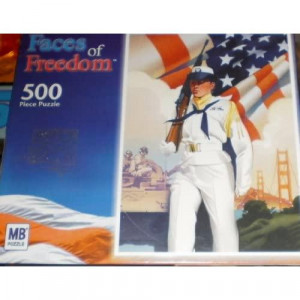 Faces of Freedom 500 Piece Puzzle