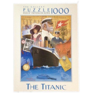 """The Gallery Puzzle 1000 Piece - """"The Titanic"""""""