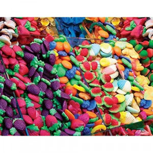 Springbok Puzzles - Fruit Flavors - 500 Piece Jigsaw Puzzle - Large 18 Inches by 23.5 Inches Puzzle - Made in USA - Unique cut Interlocking Pieces