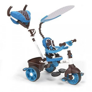 Little Tikes 4-in-1 Trike Ride On Blue/White Sports Edition