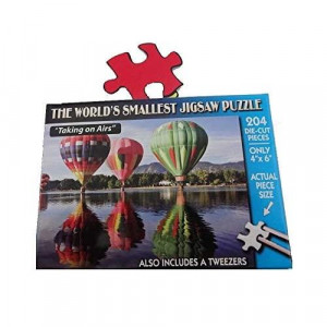 TDc games Worlds Smallest Jigsaw Puzzle - Taking On Airs