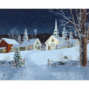 White Mountain Puzzles Christmas Lights - 1000 Piece Jigsaw Puzzles