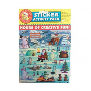 Sticker Activity Pack (1 Sticker sheet and 1 Activity Board) Where is Okee?3 Pack/Sheet DEAL