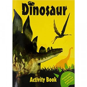 Yellow Dinosaur Activity Book Fun Facts Puzzles Coloring Jokes More Children's Coloring Activity