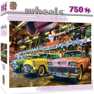 MasterPieces Wheels Jigsaw Puzzle Three Beauties Featuring Art by Linda Berman 750 Pieces