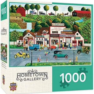 MasterPieces Hometown Gallery The Old Filling Station - Gas Station 1000Piece Jigsaw Puzzle by Art Poulin
