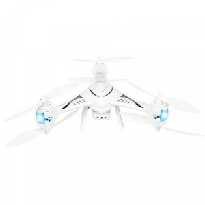 iRola Drone 4.5Ch 6 Axis Gyro 6 Motor 2.4Ghz RC WiFi FPV Quadcopter with HD Camera - White