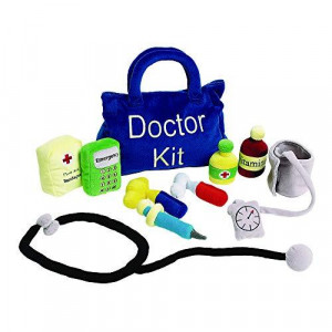 Excellerations Toddler Plush Doctor Kit 10 Pieces Educational Toys Kids Toy Gift