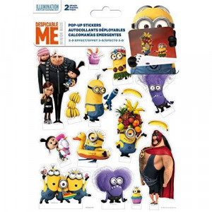 Trends International Despicable Me Pop Up Stickers