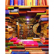 Springbok Puzzles - Book Shop Jigsaw Puzzle - 1000 Pieces - Large 30 Inch by 24 Inch Puzzle