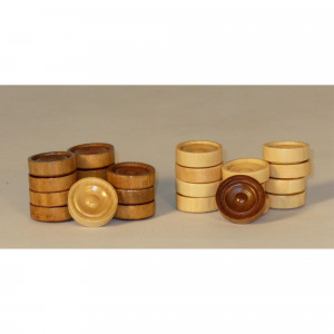 """1"""" Wood Stacking Checkers"""