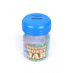 Zillionz Counting Money Jar - Blue # 3056404