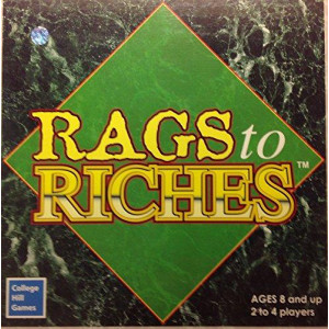 Vintage 2003 Rags to Riches Board game