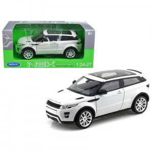 Range Rover Land Rover Evoque White 1/24 Diecast Car Model by Welly