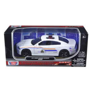 Dodge Charger Enforcer RCMP Canadian Police Car 1/24 by Motormax