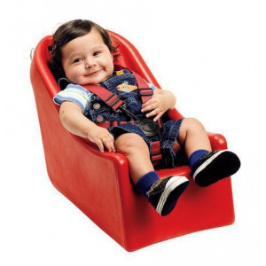 INFANT-SOFT BUGGY SEAT (RED)