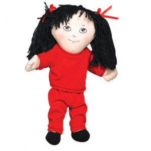 Sweat Suit Doll - Asian Girl