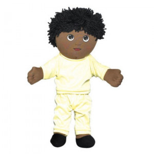 Sweat Suit Doll - African American Boy