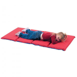 """2"""" Infection Control Folding Mat - Red/Blue 5 Pack"""