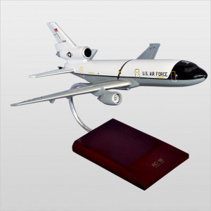 KC-10A Extender White/Gray Wood Desktop Model