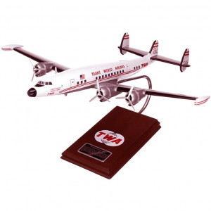 L-1049 Super Constellation TWA 1/72 Desktop Wood Model