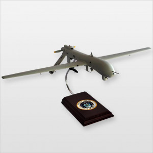 MQ-1 Predator Desktop Wood Model