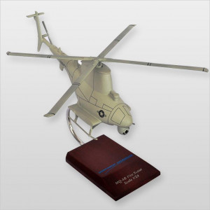 MQ-8B Navy Fire Scout Desktop Wood Model