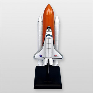 Space Shuttle F/S Endeavour (S) Desktop Wood Model