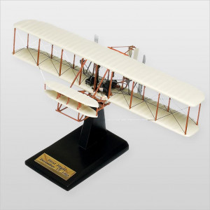 "Wright Flyer ""Kitty Hawk"" Desktop Wood Model"