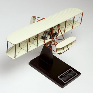 "Wright Flyer ""Kitty Hawk"" 1/24 Desktop Wood Model"