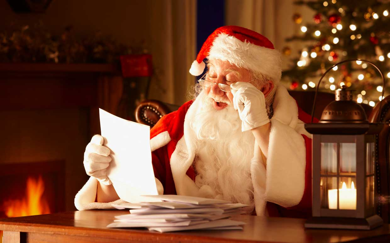 Be A Santa To Your Child: The Christmas List!